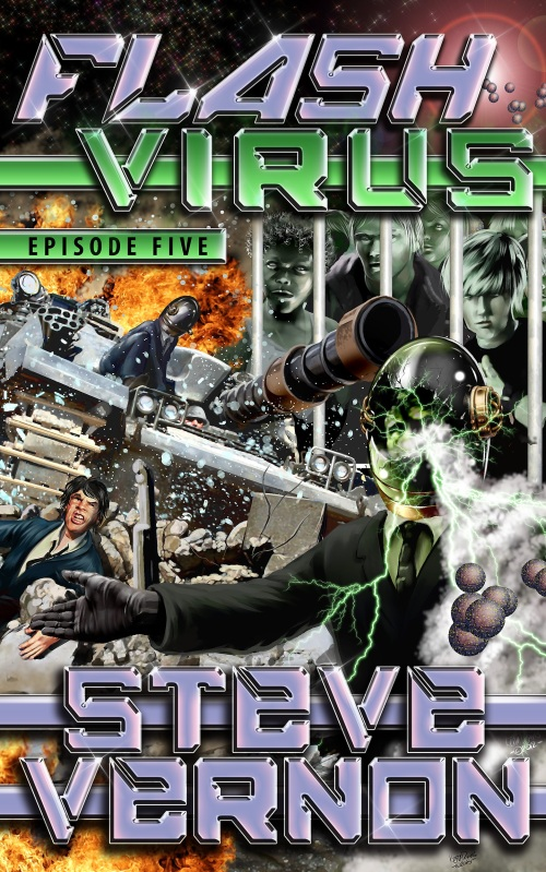 Flash Virus Episode Five Kindle format