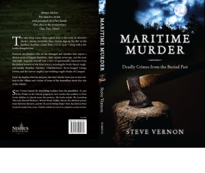 If you click this picture it will take you the Kindle version of MARITIME MURDER. It is also available in Kobo, Nook or honest-to-Moses paperback. I'd put up a clickable picture for each of them but I have taken a sacred vow to help preserve our virtual forests and to abstain from over-spamming this blog page.