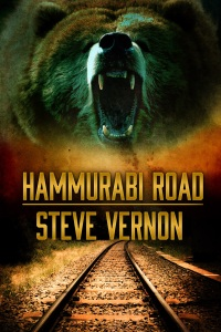 Click this picture if you'd like a free Kindle copy of HAMMURABI ROAD and you happen to live in the UK!