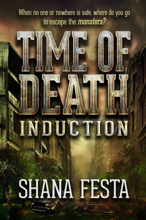 And - if you click on this picture it will take you directly to the Amazon listing for TIME OF DEATH - and it looks like a truly kickass book!