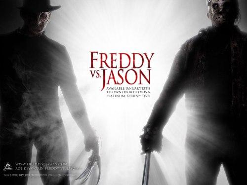 Freddy versus Jason