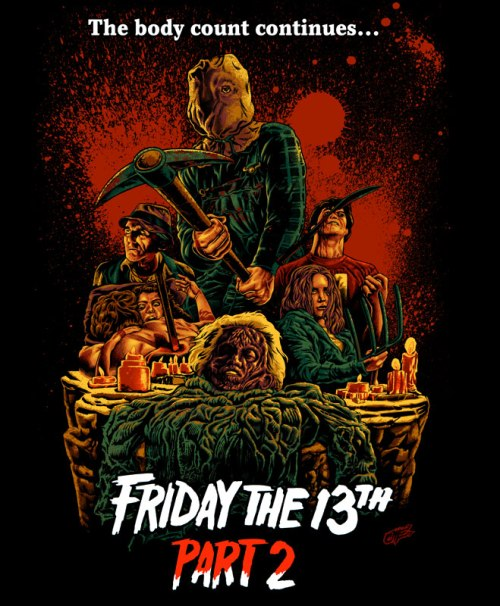 Friday the 13th 2 movie poster