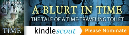 Please click this link and nominate A BLURT IN TIME for the Kindle Scout program.