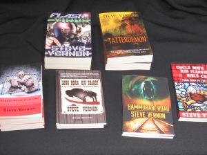 Books for the Book Fair 001