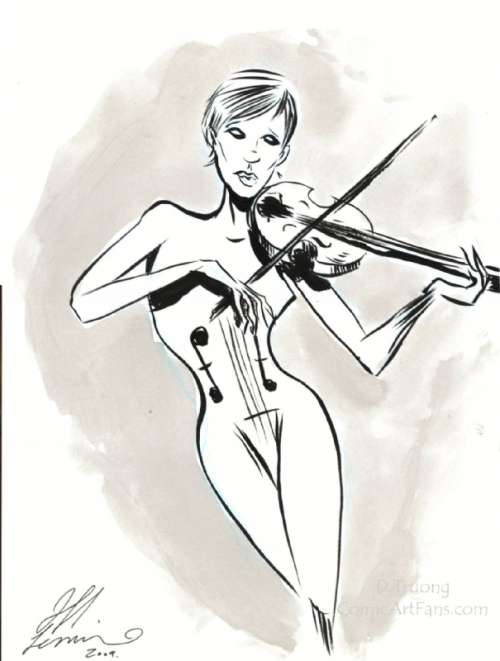 2009 Jeff Lemire - White Violin copy