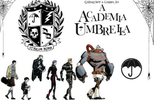 Umbrella Academy comic
